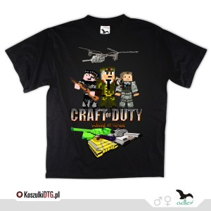 CRAFT OF DUTY - Call of duty a'la MINECRAFT