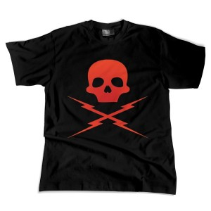 Grindhouse: Death Proof Skull -red-