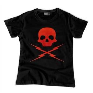 Grindhouse: Death Proof Skull -red- damska