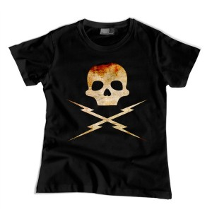 Grindhouse: Death Proof Skull -fire- damska