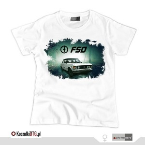 Fiat 125p Crime Project (t-shirt damski)