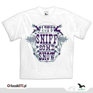 Let's sniff some snow - *old violet*