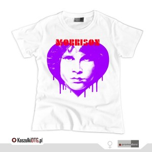 All You Need is Jim Morrison *violet* (t-shirt damski)