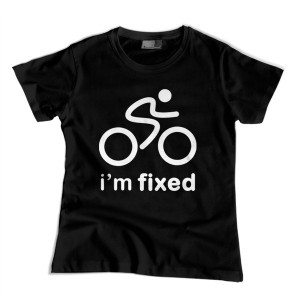 I'm fixed (t-shirt damski)