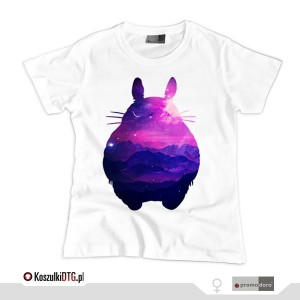 TOTORO Dreams *white* (t-shirt damski)