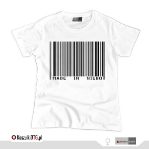 Made in NIEBO (t-shirt damski)