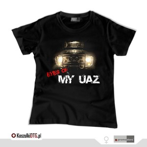 Eyes of my UAZ (t-shirt damski)
