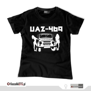 UAZ Girls *black* (t-shirt damski)