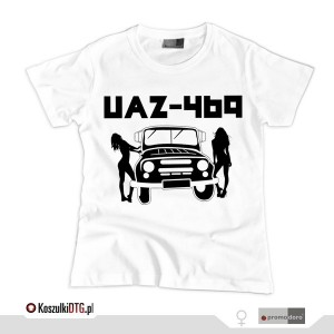 UAZ Girls *white* (t-shirt damski)