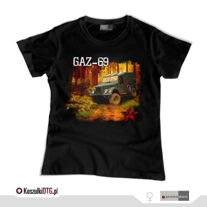 GAZ 69 *black* (t-shirt damski)