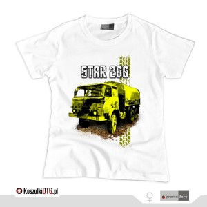 Star 266 *white* (t-shirt damski)