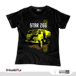 Star 266 *black* (t-shirt damski)