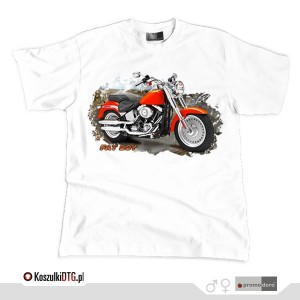 Harley Davidson FAT BOY *white*