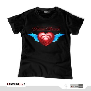 Kochanej MAMUSI *black*  (t-shirt damski)