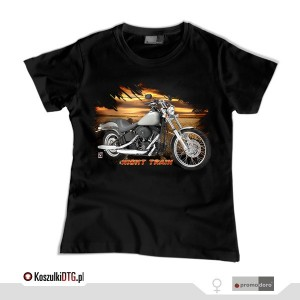 Harley Davidson Softail NIGHT TRAIN  *black* (t-shirt damski)