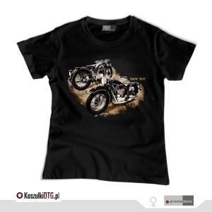 BMW R-35  *black* (t-shirt damski)