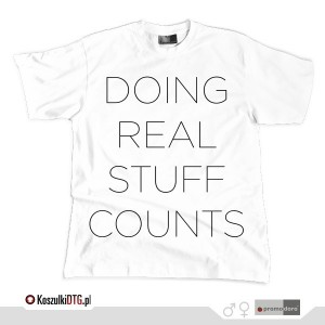 DOING REAL STUFF COUNTS *white*