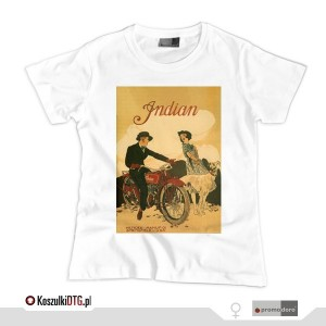 INDIAN Advertising (t-shirt damski)