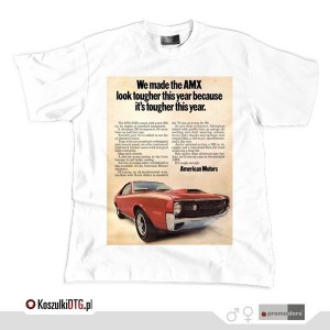 AMC AMX 1970 Advertising